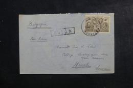 CONGO BELGE - Enveloppe De Aba Pour La Belgique Par Avion En 1936, Affranchissement Plaisant - L 46311 - Congo Belge