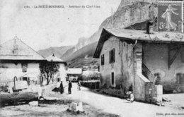 Le PETIT BORNAND (Hte Savoie) - Intérieur Du Chef-Lieu. Edition Pittier. N° 1781. Circulée En 1908. TB état. - France