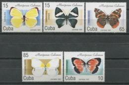 Cuba 1997 / Butterflies MNH Mariposas Papillons Schmetterlinge / Cu9338  18-23 - Mariposas