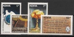 Kenya - 1986 - N°Yv. 356 à 359 - Année De La Paix - Neuf Luxe ** / MNH / Postfrisch - Kenya (1963-...)