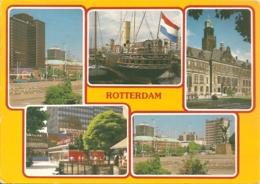 NL - ZH - Rotterdam - Multivues / Multiview / Mehrbildkarte (5) - Rotterdam