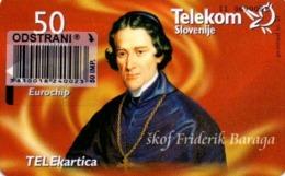 Slovenia, Slovenija, Slowenien, Telekom Slovenije - TS262. Very Rare Phonecard - Pope. Only 997 Pieces Issued. - Slovénie