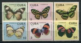 Cuba 1989 / Butterflies MNH Mariposas Papillons Schmetterlinge / Cu8525  C3-8 - Mariposas