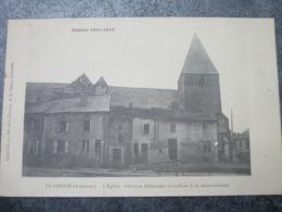 L'Eglise - Ouvriers Allemands Travaillant à Sa Reconstruction - Le Chesne