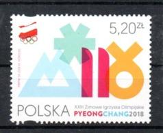 WINTER OLYMPICS 2018 Polonia Polska MNH - Winter 2018: Pyeongchang