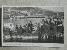 VILLEFRANCHE                      COMBAT NAVAL FLEURI - Villefranche-sur-Mer