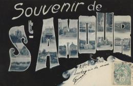 SOUVENIR DE SAINT-AMOUR  1906 - Greetings From...
