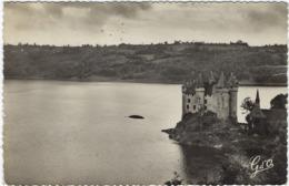 15   Le Chateau Feodal  Dominant  Le Plan D'eau Du Barrage De Bort   Vue D'ensemble Sud-est - Frankreich
