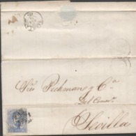 3450  Carta Entera Barcelona 1873, Amadeo  Rombo De Rombos, - 1872-73 Königreich: Amédée I.