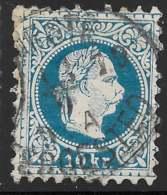 Michel 38IIA - 10 Kr Bleu - O - 1850-1918 Empire