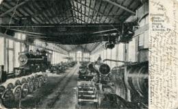 Juniata Shops,Altoona,Pa, Gelaufen - Trains