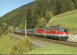 """Elok 1042 609-6 + 1044 226-7 Der ÖBB Vor EC 85 """"Michelangelo"""", Ungelaufen - Eisenbahnen"""