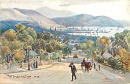 Pays Div- Ref U187- Nouvelle Zelande - New Zealand -illustrateurs - Illustrateur Tuck Oilette - Wellington - - Nuova Zelanda