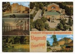 Bayreuth - Richard Wagner Festspielstadt - Grüner Hügel - 5 Ansichten - Bayreuth