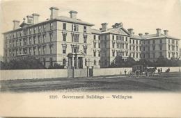 Pays Div- Ref U186- Nouvelle Zelande - New Zealand - Government Buildings - Wellington - - Nuova Zelanda