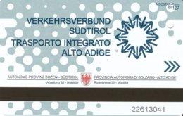 Italien Bozen / Südtirol Fahrkarte 2019 Bus - Busse