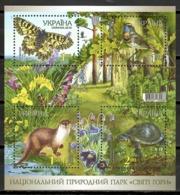 Ukraine 2010 Ucrania / Fauna Birds Butterflies Reptiles MNH Aves Mariposas Mamiferos / Cu9834  29-37 - Pájaros