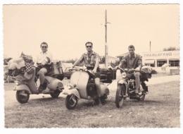"MOTO SCOOTER - "" VESPA  "" - SCOOTER  - FOTO ORIGINALE 1956 - Automobili"