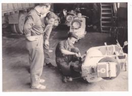 "MOTO SCOOTER - "" VESPA  "" - SCOOTER  - FOTO ORIGINALE 1957 - Automobili"