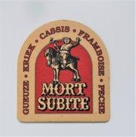Sous Bock Bière Mort Subite - Beer Mats
