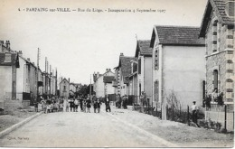 PARPAING- SUR- VILLE-  RUE DE LIEGE-  INAUGURATION 4 SEPTEMBRE 1927 - Autres Communes