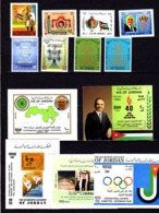 Jordanie 1992-94, Roi Hussein, C.I.O., Unif Al Al-Bayt, Croix-Rouge Et Croissant-Rouge, Entre 1329 Et BF 61**, Cote 66€ - Jordanien