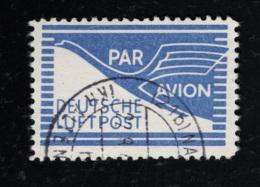 1948 1. Mai Flugpost Zulassungsmarke Für Geschäftsbriefe Gestempelt O - Bizone