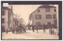 COLOMBIER - RENTREE A LA CASERNE - ARMEE SUISSE - MILITAIRE - TB - NE Neuchâtel