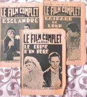 3 MAG CINÉMA: LE FILM COMPLET (16/08- 31/10- 12/11/1931)- LE CRIME D'UN PÈRE- GASPARD LE LOUP- ESCLANDRE - Other