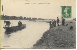 MENARS  Les Bords De La LOIRE (pêcheurs, Bateau...) - France