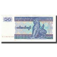 Billet, Myanmar, 10 Kyats, KM:71a, SPL - Myanmar