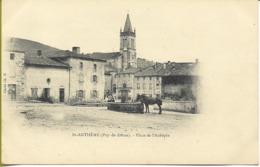 SAINT ANTHÊME   Place De L'Aubépin - Altri Comuni