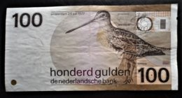 NEDERLAND Pays-bas 100 Florins Amesterdam - [2] 1815-… : Regno Dei Paesi Bassi