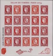 France - 2014 - N° Yv. F4871 - Bloc Cérès - Salon Du Timbre - Neuf Luxe ** / MNH / Postfrisch - Blokken En Velletjes