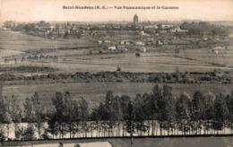 9690-2019      ST GAUDENS  VUE PANORAMIQUE ET LA GARONNE - Saint Gaudens