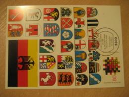 BONN 1983 Coat Of Arms Heraldry Maxi Maximum Card GERMANY - Briefe U. Dokumente