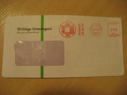 STUTTGART 1994 Coat Of Arms Heraldry Meter Mail Cancel Cover GERMANY - Briefe U. Dokumente