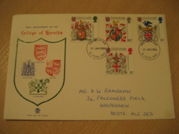 ST ALBANS HERTS 1984 College Of Heralds Coat Of Arms Heraldry FDC Cancel Cover ENGLAND - Briefe U. Dokumente