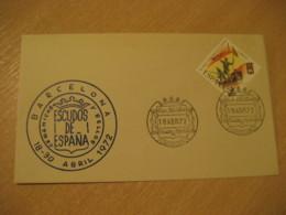 MADRID 1972 Exposicion Escudos Coat Of Arms Heraldry Legion Stamp Cancel Cover SPAIN - Briefe U. Dokumente