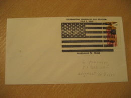 BLUEGROVE 2005 Flag Flags Cancel Cover USA - Briefe