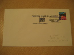 ORANGE 2001 Day Flag Flags Cancel Cover USA - Buste