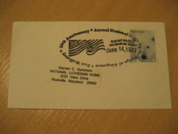 BALTIMORE 1999 Fort McHenry Flag Flags Cancel Cover USA - Briefe