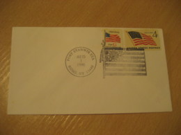 FORT STANWIX 1996 Flag Flags Cancel Cover USA - Briefe