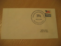 MUNDELEIN 1994 Flag Flags Cancel Cover USA - Buste