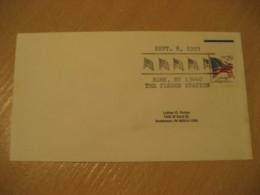 ROME 1993 The Pledge Flag Flags Cancel Cover USA - Briefe