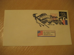 ROCHESTER 1991 Day Flag Flags Cancel Cover USA - Buste