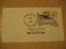 MAUGANSVILLE 1990 Pride Flag Flags Cancel Cover USA - Briefe