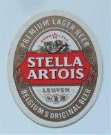 Sous Bock Bière Stella Artois Leuven - Beer Mats