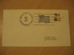 BIRMINGHAM 1982 Flag Flags Cancel Cover USA - Covers
