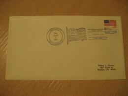 OSWEGO 1981 Flag Flags Cancel Cover USA - Briefe
